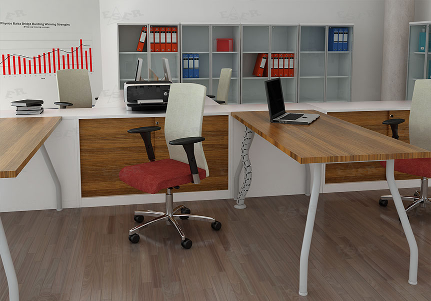 Cable Management Solutions Metal Office Table Legs