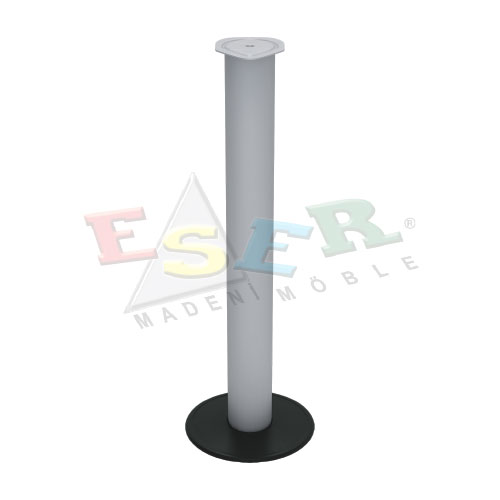 KFA 69 Leg With Round Base Plate For Wooden